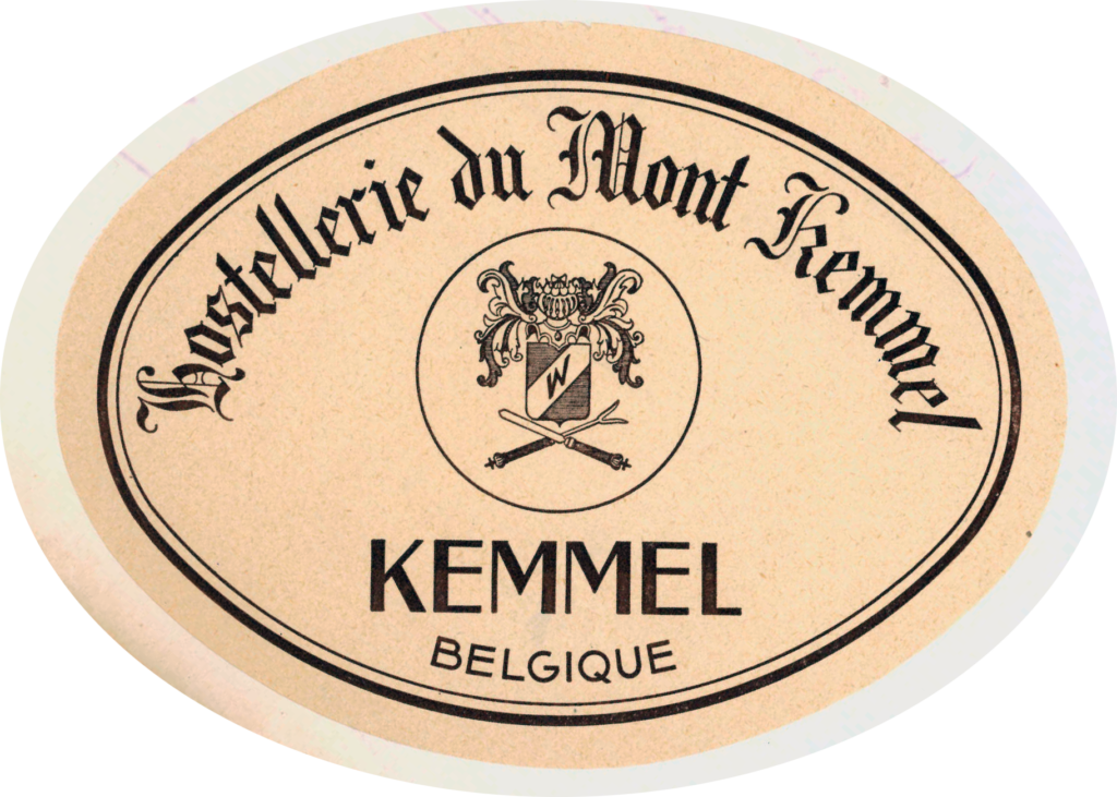 Sticker Hostellerie du Mont Kemmel, Belgique