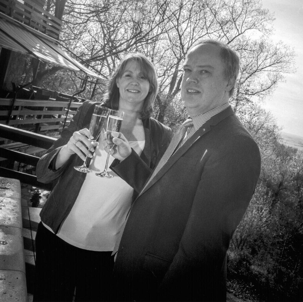 Uw gastvrouw en gastheer: Kristine De Loose & Philippe Vercoutter