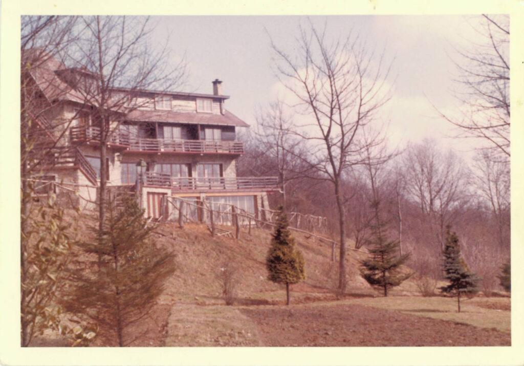 Hostellerie Mont Kemmel  in de beginjaren