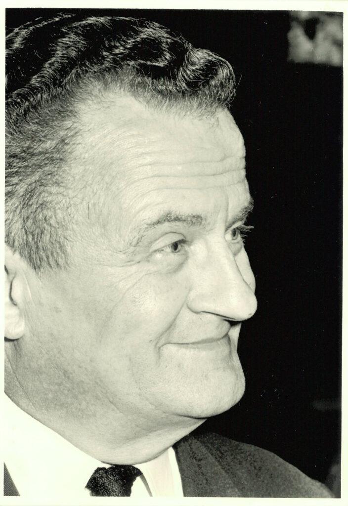 Walter Geissler, directeur van Hostellerie Mont Kemmel