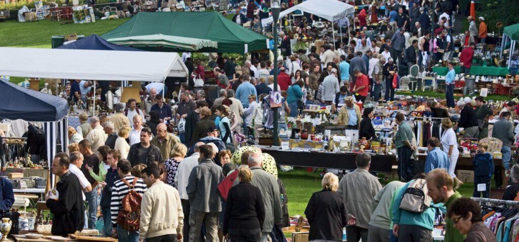 Jaarlijks evenement: Rommelmarkt