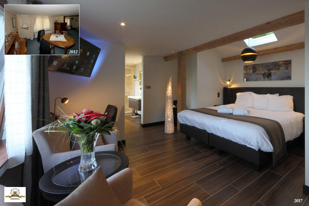 VIP Kamer 204 werd ontworpen op basis van een voormalig privé appartement.